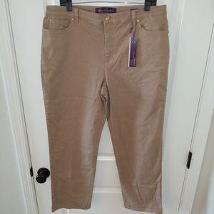 New Gloria Vanderbilt Pants 16 short petite